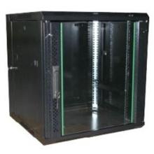 """Coffret 19"""" fixe 15U profondeur 600 noir en kit"""