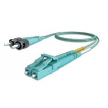 Jarretière duplex multimode OM3 50/125 LC/ST 2m