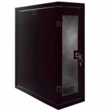 Coffret vertical 4U 200x500 monté noir