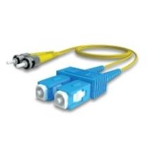 Jarretière duplex monomode OS2 9/125 SC/ST 2m