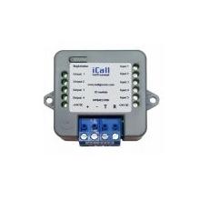 ICall 501 LBIO-Station BUS 5 entrées 4 sorties (reprise de bouton contact sec)