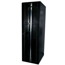"""Baie 19"""" 21U 600 X 600 ( charge 400 kg) noire en kit"""
