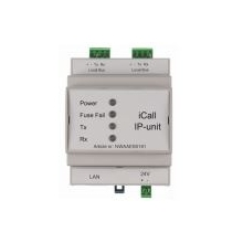 ICall 100 IP-DIN Module IP DIN 2X25 module local BUS 2 paires