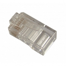 Plug câble plat multibrins 8/8 (sachet de 100)