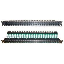 Panneau téléphonique 60 ports RJ45 Contact CAD 1U 3.6/4.5