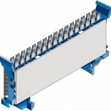 Module à coupure CAD 8 paires double fourche Y - bleu