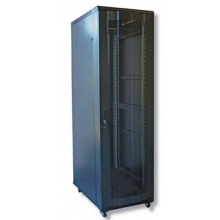 "Baie 19"" serveur 24U 600 X 1000 ( charge 800 kg) noire en kit"