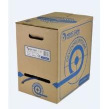 Câble catégorie 6 F/UTP - 1x4 paires bleu foncé - Carton dévidoir de 305m