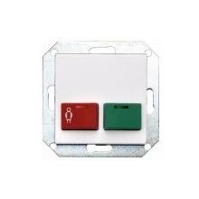Bouton STANDARD vert et rouge appel,présence et acquitement